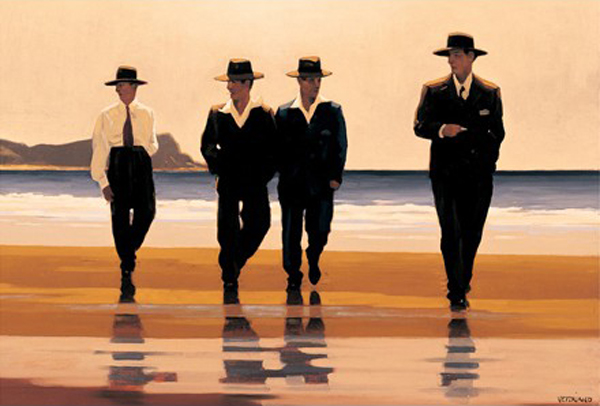 The Billy Boys — Jack Vettriano