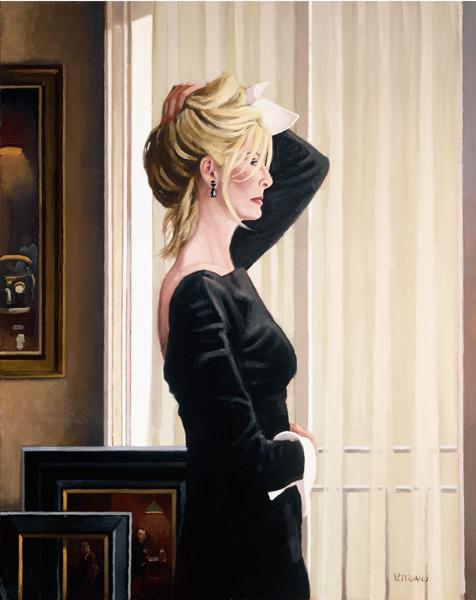 JVP101-Black on Blonde